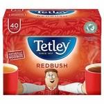 Clearance Line Tetley Redbush 40 Teabags