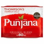 Clearance Line Thompsons Punjana 80 Teabags