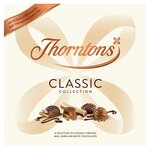 Clearance Line Thorntons Classic Milk Dark and White Large Collection 449g