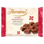 Clearance Line Thorntons Mini Chocolate Fudge Brownies 9 Pack
