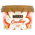 Clearance Line Tiana FairTrade Organics CocoTop Coconut Snack Sweet 50g