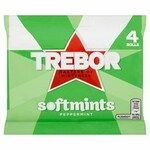 Clearance Line Trebor Softmints Peppermint 4 Pack