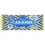 Clearance Line Tunnocks Caramel Wafers Dark Chocolate 8 Pack