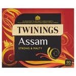 Clearance Line Twinings Assam Tea 80 Teabags