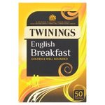 Clearance Line Twinings English Breakfast Tea 50 Teabags