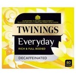 Clearance Line Twinings Everyday Decaffeinated 80 Teabags