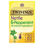 Clearance Line Twinings Nettle and Peppermint 20 Teabags