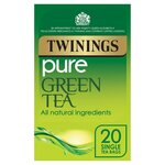 Clearance Line Twinings Pure Green Tea 20 Teabags