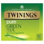 Clearance Line Twinings Pure Green Tea 80 Teabags