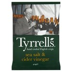 Clearance Line Tyrrells Sea Salt And Cider Vinegar Potato Crisps 40g