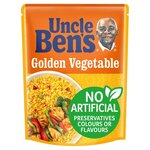 Clearance Line Uncle Bens Express Golden Vegetable Rice 250g