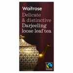 Clearance Line Waitrose Darjeeling Loose Leaf Tea 125g