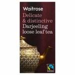 Clearance Line Waitrose Darjeeling Loose Leaf Tea 125g