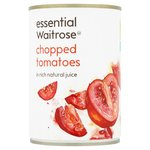 Clearance Line Waitrose Essential Chopped Tomatoes in Natural Juice 400g