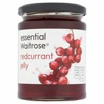 Clearance Line Waitrose Essential Redcurrant Jelly 340g