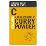Clearance Line Waitrose Organic Curry Powder 37g