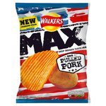Clearance Line Walkers Max BBQ Pulled Pork Crisps 150g