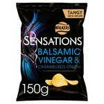 Clearance Line Walkers Sensations Balsamic Vinegar and Caramalised Onion 150g