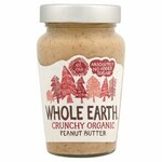 Clearance Line Whole Earth Organic Crunchy Peanut Butter 340g
