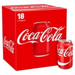 Coca Cola Regular 18 x 330ml Cans