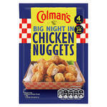 Colmans Big Night In Chicken Nuggets 56g