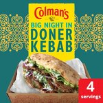 Colmans Big Night In Doner Kebab Mix 38g