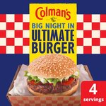 Colmans Big Night In Ultimate Burger Mix 56g