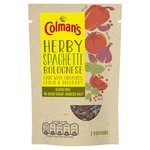 Colmans Herby Spaghetti Bolognese 24g
