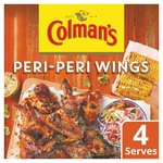 Colmans Share The Flavour Peri Peri Wings 29g