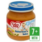 Cow And Gate 6 Months Fishermans Bake 125g