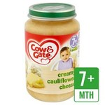 Cow And Gate 7 Months Cauliflower Cheese 200G
