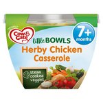 Cow And Gate Little Bowl 7 Months Herby Chicken Casserole Meal 200g