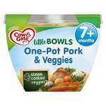 Cow And Gate Little Bowl 7 Months Pork and Veggies Meal 200g