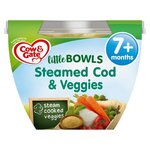 Cow And Gate Little Bowl 7 Months Steamed Cod and Veggies Meal 200g