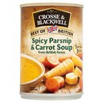 Crosse And Blackwell Best Of British Spicy Parsnip Soup 400g