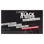 Curaprox Black is White Whitening Gum 12 pack