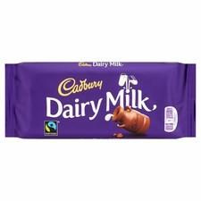 Cadbury Dairy Milk Chocolate Bar 110g