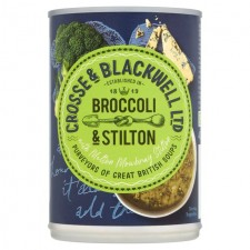 Crosse And Blackwell Best of British Broccoli and Stilton Soup 400g