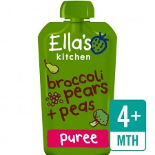 Ellas Kitchen Organic Broccoli Pears and Peas120g 4 Months