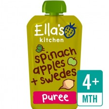 Ellas Kitchen Organic Spinach Apples and Swede 120g 4 Month