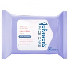 Johnsons Face Care Pampering Wipes 25