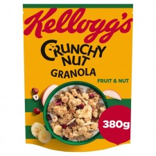 Kelloggs Crunchy Nut Oat Granola Mixed Fruit and Nut 380g