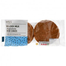 Marks and Spencer Belgian Milk Chocolate Rice Cakes 102g