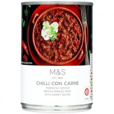 Marks and Spencer Chilli Con Carne 400g