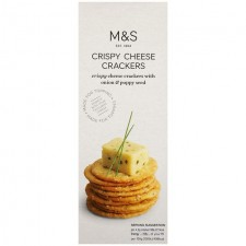 Marks and Spencer Crispy Cheese Crackers 150g