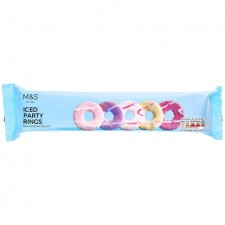 Marks and Spencer Iced Party Rings 125g