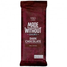 Marks and Spencer Made Without 55% Cocoa Dark Chocolate 85g
