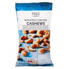 Marks and Spencer Roasted and Salted Cashews 150g