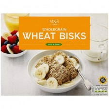 Marks and Spencer Wholegrain Wheat Biscuits 24s 480g