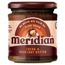 Meridian Cocoa and Hazlenut Butter 170g